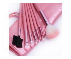 Vindem pensule Make-Up Pink – Set 7 bucati